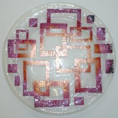 Mod Shapes Platter