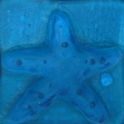 Blue Starfish Tile