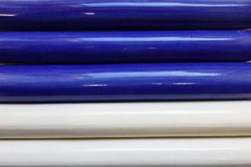Nantucket TileMakers pencil trim, hand made ceramic pencil trim made on Nantucket