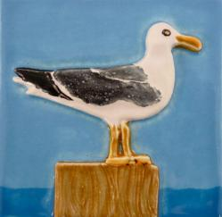 Sea Gull Ceramic Tile