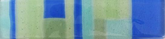 hand made glass tile, made on nantucket, hand made glass tile, mondrian glass tile, modernist glass tile