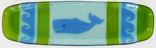 Blue Green Whale Platter
