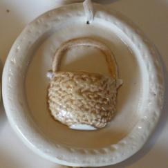 Antique Lightship Basket Ornament