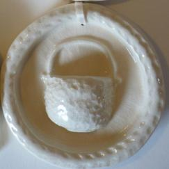 Natural Lightship Basket Ornament